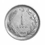 1 Lira 1959 Tail