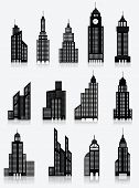 Skyscrapper icons