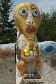 Mosaic Totem Pole
