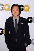 LOS ANGELES - NOV 12:  Steven Yeun at the GQ 2013