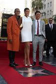 LOS ANGELES - NOV 13:  Raphael Saadiq, Jennifer Hudson, Jacob Latimore at the Jennifer Hudson Hollyw