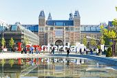 Rijksmuseum in Amsterdam the Netherlands