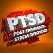 PTSD Concept.