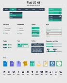 UI  kit is a of beautiful components with icon set