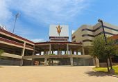 A Sun Devil Stadium Shot, Tempe, Arizona