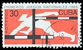 Cuba Stamp Hurdle Race