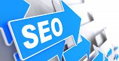 SEO on Blue Arrow.