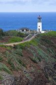 KAUAI, HAWAII-FEBRUARY 11, 2014: Kilauea Point National Wildlife Refuge offers thousands of visitors