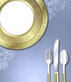 Luxurious Place Setting