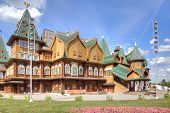 Palace Of Tsar Alexei Mikhailovich Romanov Is In Kolomenskoye