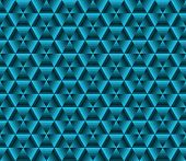 Abstract color background blue triangles