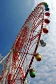 Ferris wheel of Tokyo