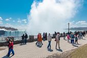 Niagara Falls Tourist Promenade