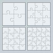 Puzzles pieces.