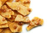 Peanute Brittle On White