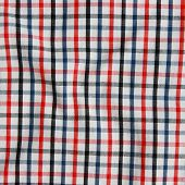 Striped Crumpled Tablecloth.