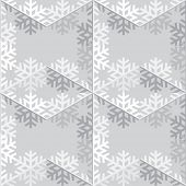 Decorative abstract snowflake. Seamless