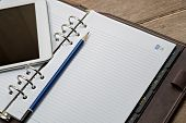 Diary with Digital Tablet PC