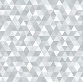 abstract gray seamless triangular background