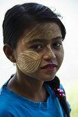 Beautiful Young Burmese Girl