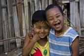Children in Myanmar