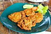 Thai Food Fish Cake (tod Mun Pla)
