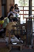 Myanmar Hand-loom Woman