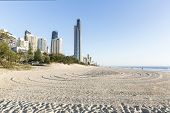 Gold Coast Surfers Paradise beach and Soul Building