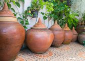 Thailand Traditional Clay Water Pot