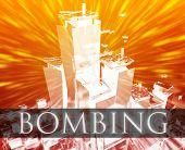 Bombardeio de terrorismo