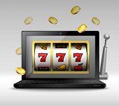 Online gambling concept