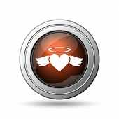 Heart Angel Icon