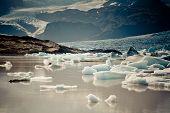 Jokulsarlon Glacier Lagoon In Vatnajokull National Park, Iceland