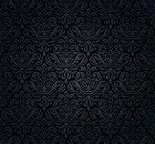 Black, grunge, luxury, vintage, decorative background