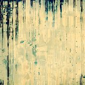 Art grunge vintage textured background with abstract elements. With yellow, blue, gray patterns
