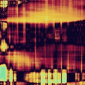 Grunge background or texture for your design. With yellow, orange, purple, violet patterns