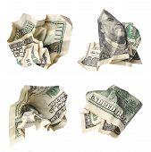 Crushed Dollar Bills