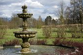 stock photo of hever  - Fountain in Italian Gardens - JPG