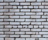 Texture Of Gray Brick Wall