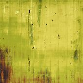 Old grunge textured background. With yellow, brown, green patterns