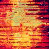Vintage texture ideal for retro background. With yellow, red, orange, black patterns