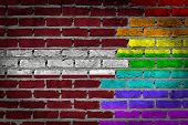 Dark Brick Wall - Lgbt Rights - Latvia