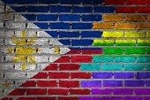 Dark Brick Wall - Lgbt Rights - Philippines