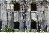 Fort Sommo Used From The Austro Hungarian Army During First World War In Italy