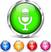 Microphone Set Icons