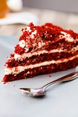 pic of red velvet cake  - red velvet cake - JPG