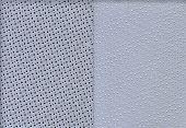 Perforated Texture Leather