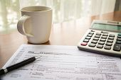 Form 1040A, U.s. Individual Income Tax Return