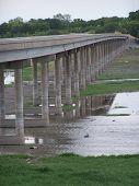 Bridge over drought.