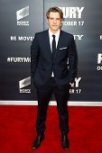 WASHINGTON, DC-OCT 15: Actor Xavier Samuel attends the world premiere of